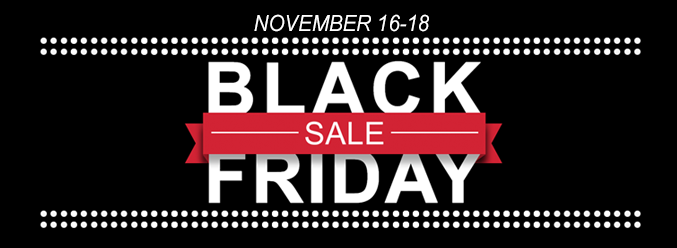 2016 Black Friday Sale